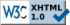 W3C Valid XHTML 1.0 Transitional